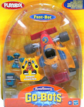Transformers Go-Bots Fast-Bot with Kid-Bot and Gas-Bot