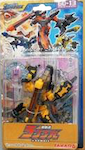 Transformers Galaxy Force (Takara) GD-13 Scrapmetal -yellow