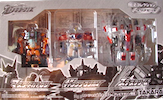 Transformers Galaxy Force (Takara) GX99-EZ Optimus Prime, Megatron, Starscream, TV-magazine Exclusive