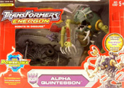 Transformers Energon Alpha-Quintesson