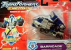 Transformers Energon Barricade (Combaticon team)