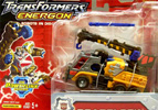 Transformers Energon Roadblock (Inferno redeco)