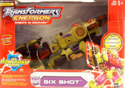 Transformers Energon Six Shot (Shockblast redeco)