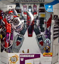 Transformers Cybertron Starscream (Supreme class)