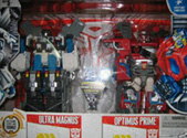 Cybertron Ultra Magnus & Optimus Prime (Costco exclusive)