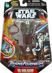 Transformers Crossovers Obi-Wan Kenobi / Jedi Starfighter