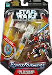 Transformers Crossovers Luke Skywalker / X-wing Fighter