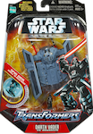 Transformers Crossovers Darth Vader / TIE Advanced