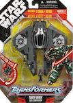 Transformers Crossovers Darth Vader / Sith Starfighter