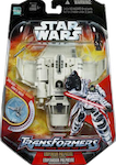 Transformers Crossovers Emperor Palpatine / Imperial Shuttle