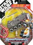 Transformers Crossovers Clone Commander Cody / Turbo Tank