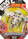 Transformers Crossovers Clone Pilot / Republic Gunship