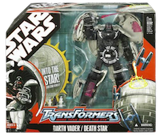 Transformers Crossovers Darth Vader / Death Star