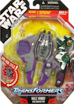Transformers Crossovers Mace Windu / Jedi Starfighter