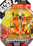 Transformers Crossovers Saesee Tinn / Jedi Starfighter - Delta-7