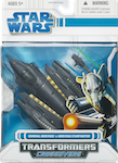 Crossovers General Grievous to Grievous Starfighter