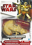 Transformers Crossovers Battle Droid Commander