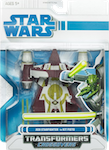 Transformers Crossovers Jedi Starfighter to Kit Fisto