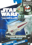 Transformers Crossovers Lieutenant Thire to Republic Attack Cruiser