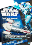 Crossovers Captain Rex to Freeco Speeder