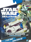 Transformers Crossovers Clone Gunner to Republic Fighter Tank