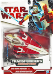 Transformers Crossovers Obi-Wan Kenobi to Jedi Starfighter