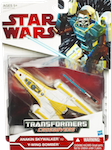 Transformers Crossovers Anakin Skywalker Y-wing bomber