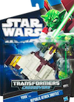 Transformers Crossovers Yoda to Republic Attack Shuttle