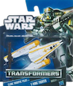 Transformers Crossovers Clone Pilot to Y-Wing Fighter
