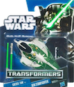 Transformers Crossovers Saesee Tiin to Jedi Starfighter