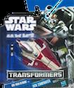 Transformers Crossovers Obi-Wan Kenobi / Jedi Starfighter Delta-7B