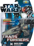 Transformers Crossovers Darth Maul / Sith Infiltrator (reissue)
