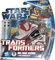 Transformers Crossovers Obi-Wan Kenobi / Jedi Starfighter Eta-2