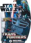 Transformers Crossovers Darth Vader / TIE Advanced X1 Starfighter