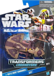 Transformers Crossovers Battle Droid Commander to AAT