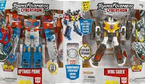 Cybertron Optimus Prime & Wing Saber (Costco exclusive)