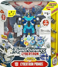Transformers Cybertron Cybertron Primus w/ Mini-con bonus pack Strongarm, Offshoot, Knockdown and Nightscream