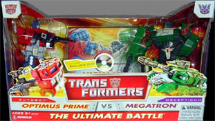 Classics Transformers Optimus Prime vs. Megatron two-pack