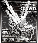 Takara - Collector's Edition (G1) Convoy (black, -e-Hobby)
