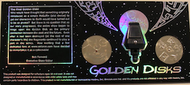 3rd Party Golden Disks with Reader - set for Transmetal Megatron