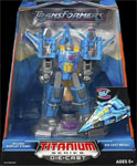 "Transformers Titanium Thundercracker (6"")"