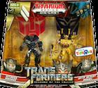 Titanium Offroad Ironhide vs. Deep Desert Brawl (Toys R Us ex.)