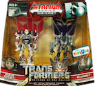 Transformers Titanium Rescue Ratchet vs. Blackout (Toys R Us ex.)