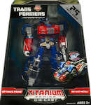 Titanium Optimus Prime (War Within, new deco)