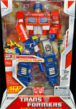 Classics Transformers 20th Anniversary Optimus Prime (DVD edition)