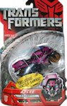 Transformers (Movie) Arcee (Exclusive Battle Damage)