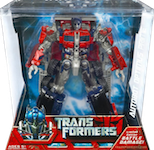 Transformers (Movie) Optimus Prime - Battle Damage! Voyager
