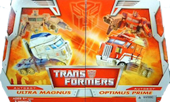 Classics Transformers Ultra Magnus & Optimus Prime - Legends 2-Pack