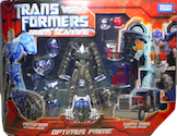 Transformers (Movie, live action, Takara) Optimus Prime - Trans  Scanning