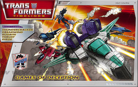 Transformers Timelines (BotCon) Box Set - Bug Bite, Dreadwind, Thundercracker, Dirge, Thrust